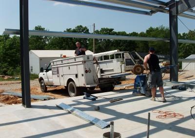 2010 construction begins