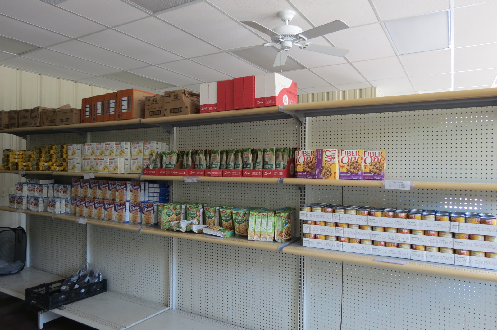 Central Missouri Food Bank Pantry